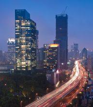 Shanghai blue hour